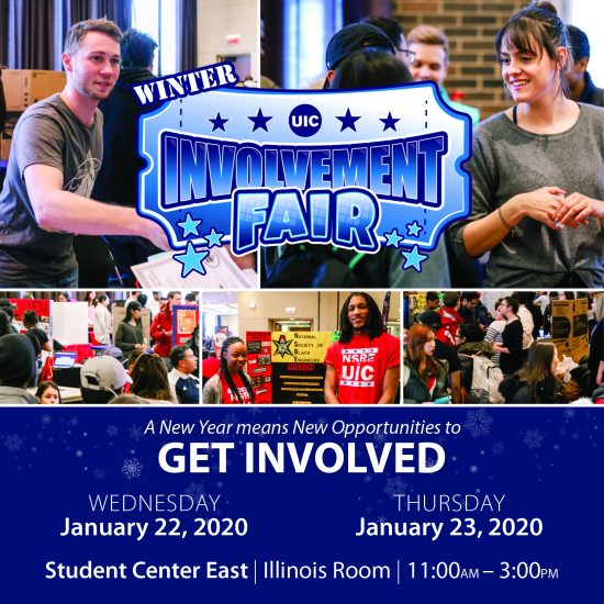 UIC Winter Involvement Fair