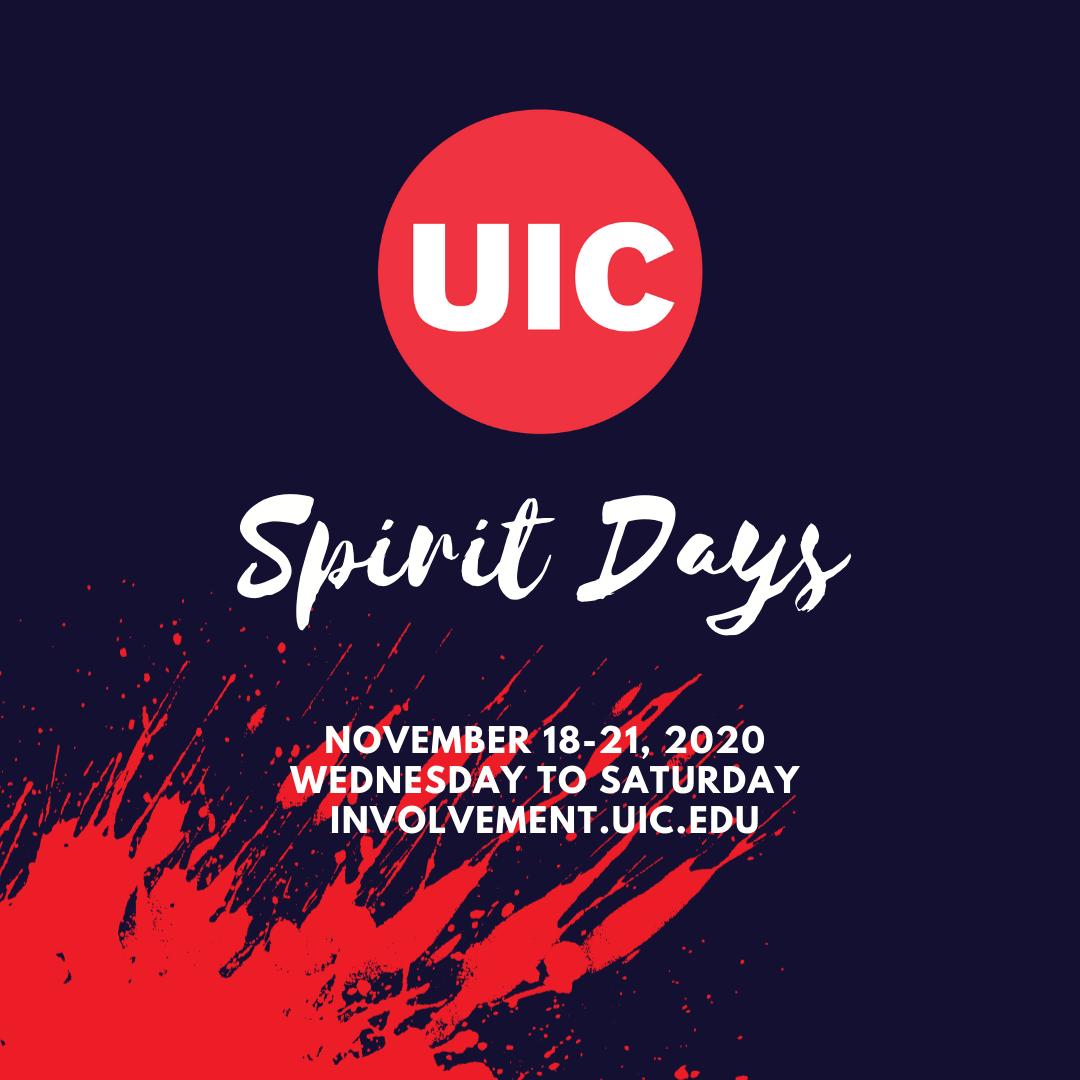 Uic 2022 Calendar.Uic Spirit Days Center For Student Involvement University Of Illinois At Chicago